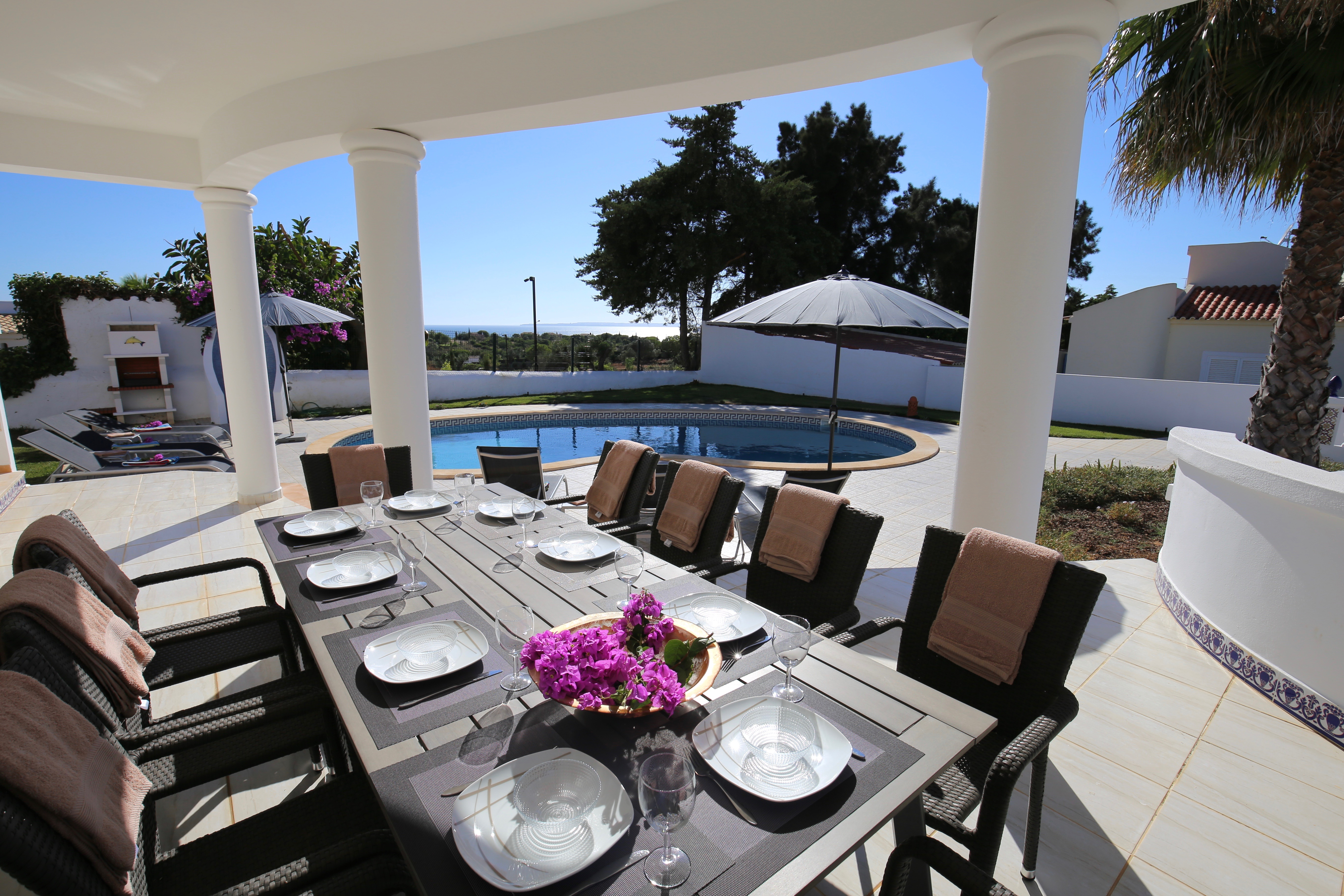 Ruime Luxe 5 slpk villa zeezicht Ferragudo Algarve