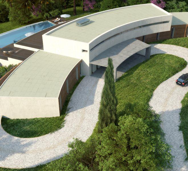 Meerblick Ferragudo 7 Schlafzimmer Villa Algarve