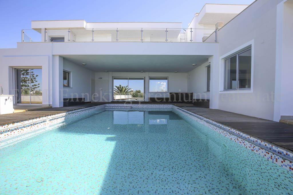 4 Schlafzimmer Villa Pool Meerblick Garage Ferragudo Portugal Algarve