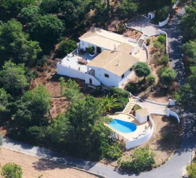 Carvoeiro 2 Schlafzimmer Villa Pool strandnah Algarve