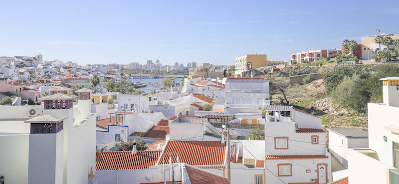 2 bedroom Duplex apartment Ferragudo Algarve Portugal Marina view Portimao