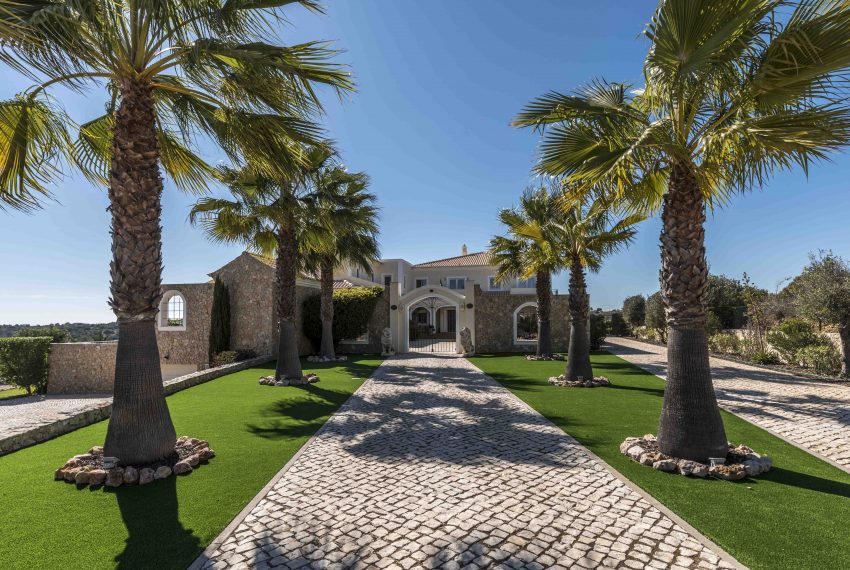 Breathtaking Sea Views Luxury 7 bedroom mansion in Porches front entrance, Enneking Real Estate