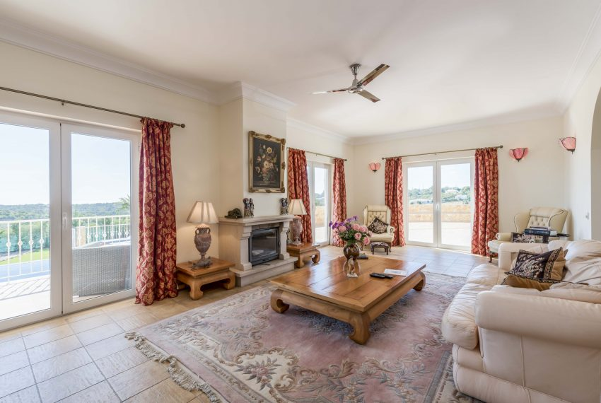 Breathtaking Sea Views Luxury 7 bedroom mansion in Porches, Enneking Real Estate, living room