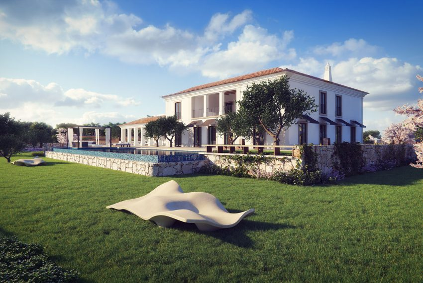 Image of villa torrados with pool and garden 1