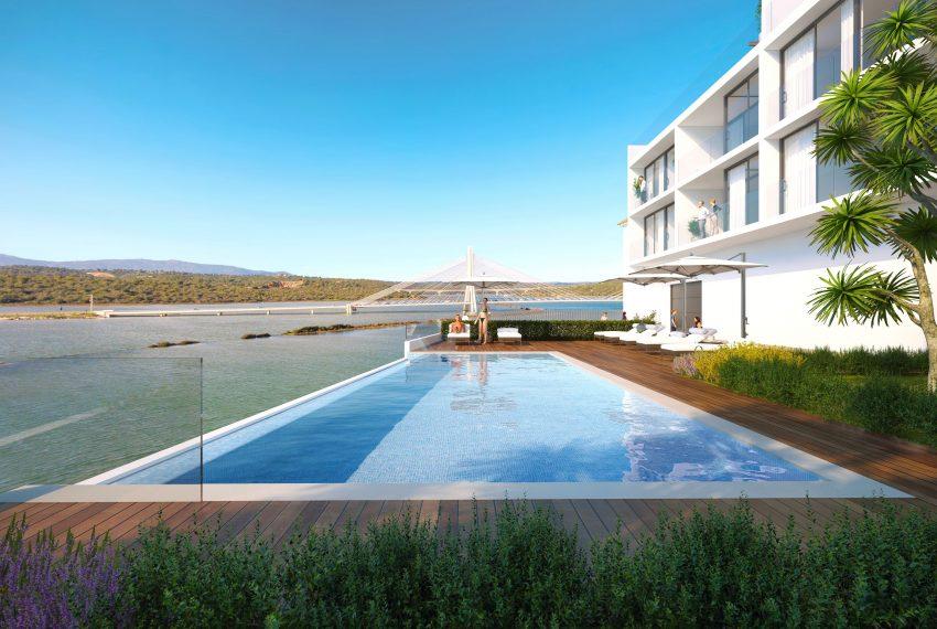 Casa do Rio complex swimming pool 1