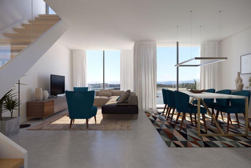 Casa do Rio complex living room