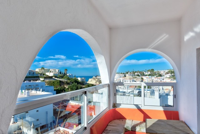 Sea View Typical 3 Bedroom House Carvoeiro, terrace, Enneking Real Estate