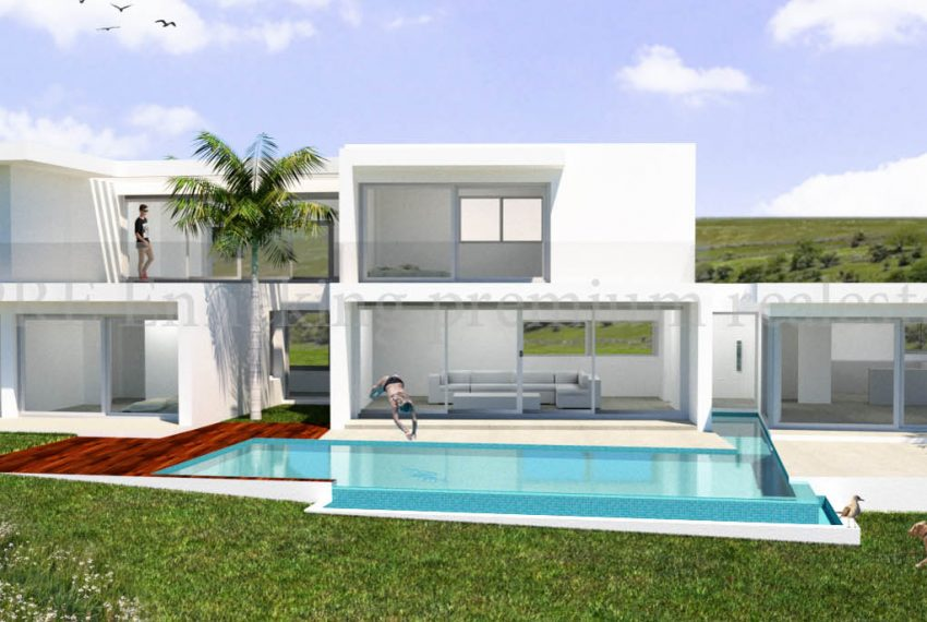Plot with Approved Project for 4 Bedroom Villa with Seaviews