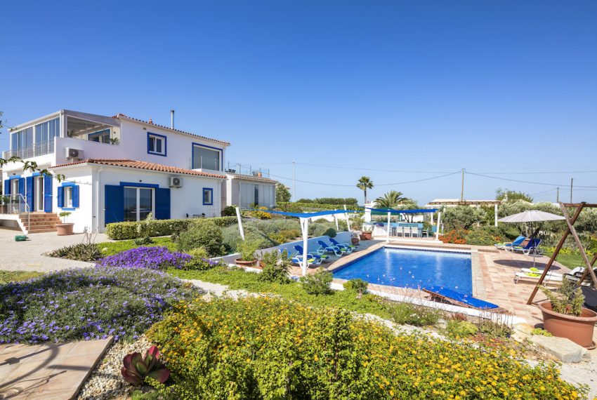 Unique 5 bedroom villa with windmill and sea views - pool & garden