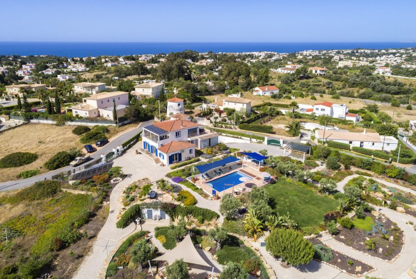 Unique 5 bedroom villa with windmill and sea views - overview