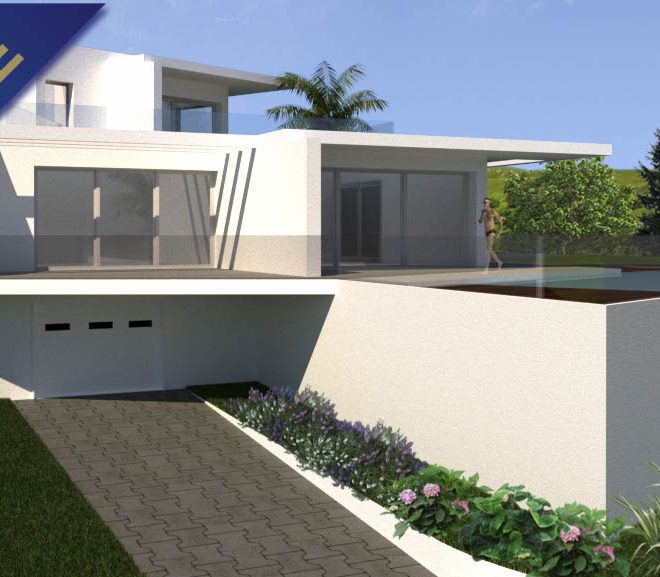 Urban plot construction 4 Bedroom villa Carvoeiro