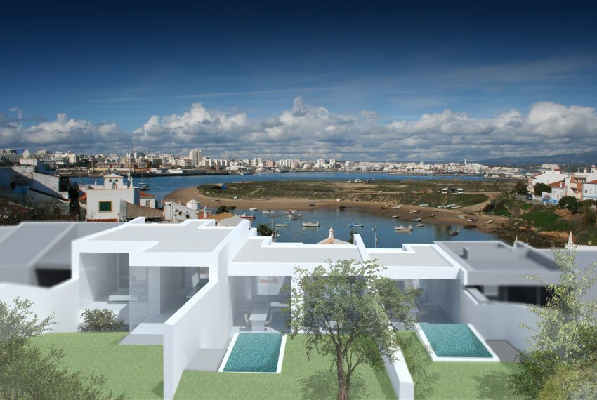 3 villa project in Ferragudo (2 or 3 bedrooms)