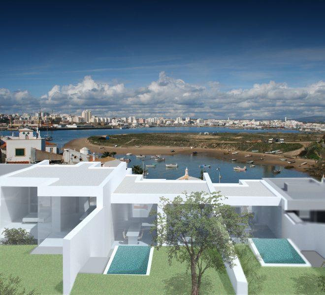 2 Bedroom Villa with Pool,Garage in Ferragudo