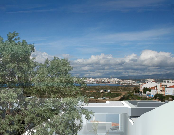 3 villa project in Ferragudo (2 or 3 bedrooms) outdoor view