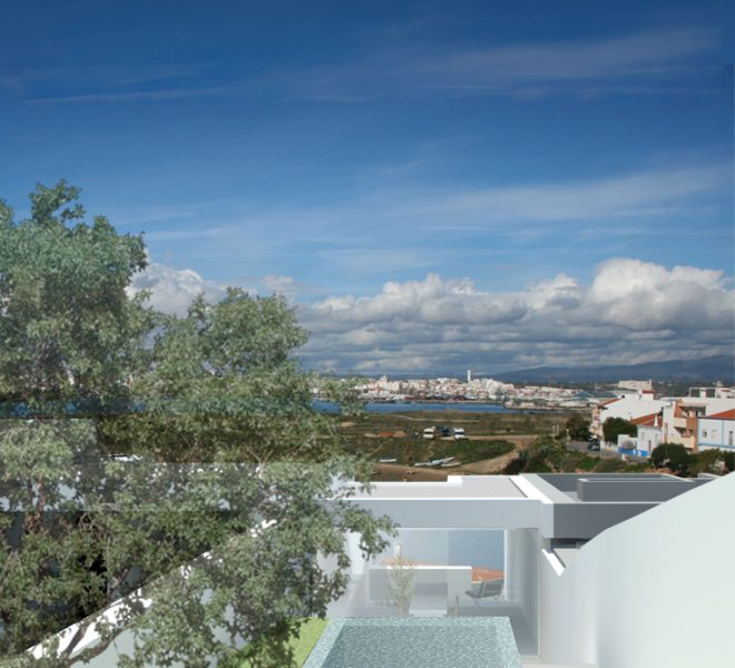 3D image of 3 villa project in Ferragudo (2 or 3 bedrooms)
