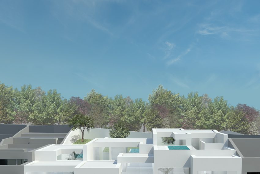 3 villa project in Ferragudo (2 or 3 bedrooms) overview