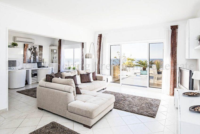 EPRE116.Penthouse Praia de rocha living room