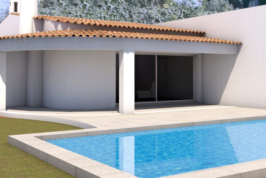 3 bedroom detached villa in Alvor front