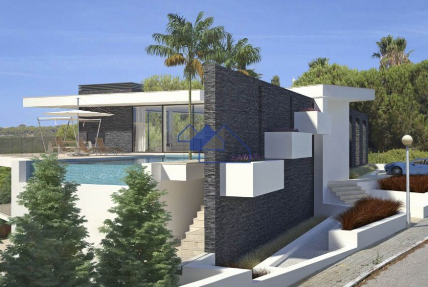 Outstanding 4 bedroom villa with seaview lateral view