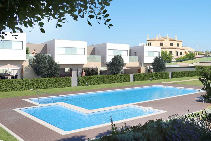 EPRE 132 contemporary three bedroom villa with pool in Ferragudo
