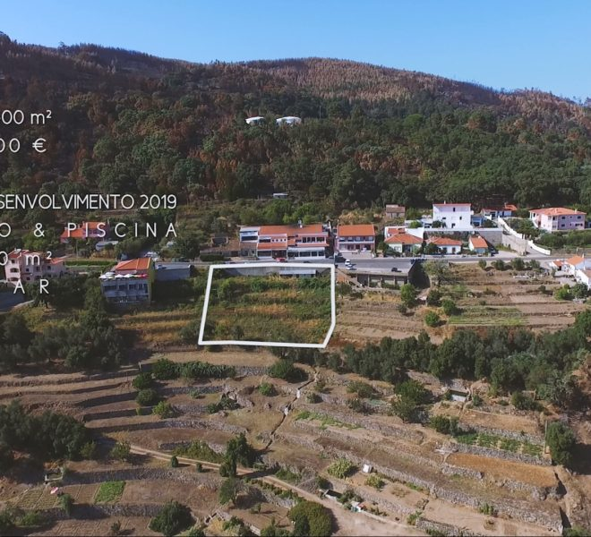 Plot construction Villa Monchique Algarve pool sea view