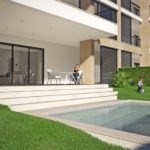 luxury 3 bedroom apartment, portimao, box garage, private pool, walking distance beach
