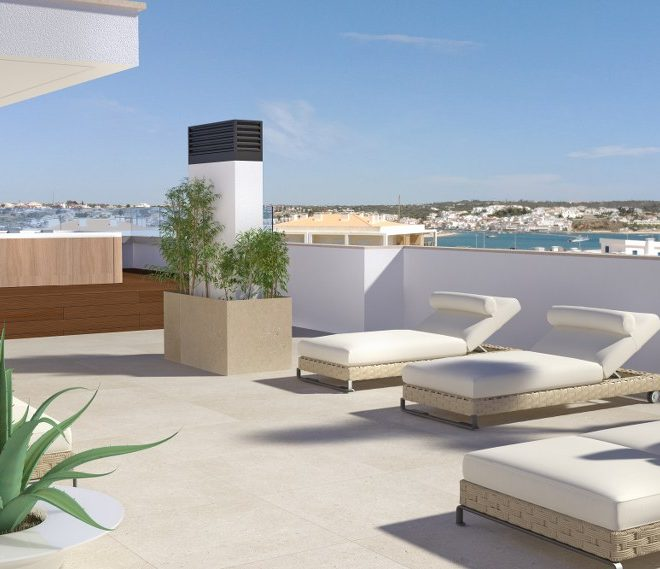 luxury penthouse portimao