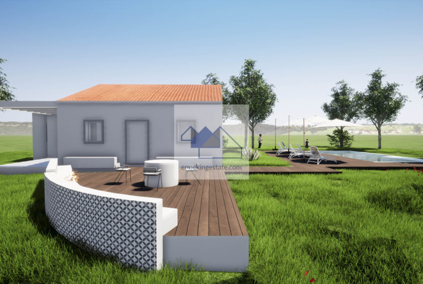 three bedroom villa home pool